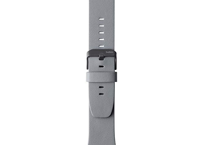 Belkin Classic Leather Band for Apple Watch (42 mm/44 mm) - Apple Watch Leather Band for Apple Watch Series 4, 3, 2, 1 (Apple Watch Wristband) - 1