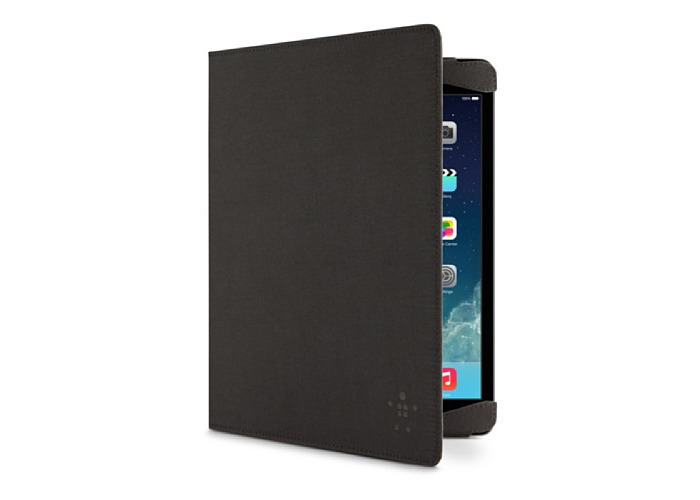 Belkin Classic Strap Cover iPad Air Case with Elastic Corners - Black - 1