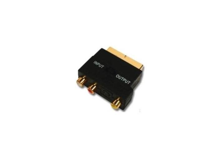 Belkin Composite/S-Video Cnnctr * Scart/3Xrca/Mindin4M;Gold - 1