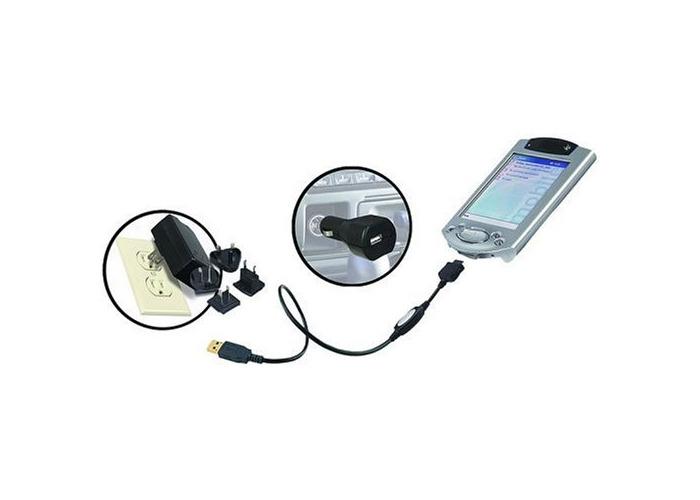 Belkin F8Q2001EAHP iPAQ USB Power Sync Travel Kit - 1