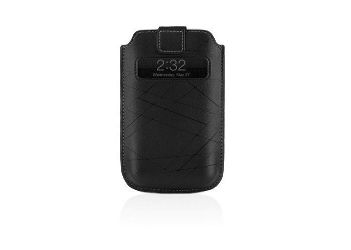Belkin iPhone 3GS Leather Holster With Pull-Tab & Window To View Caller Id - 1