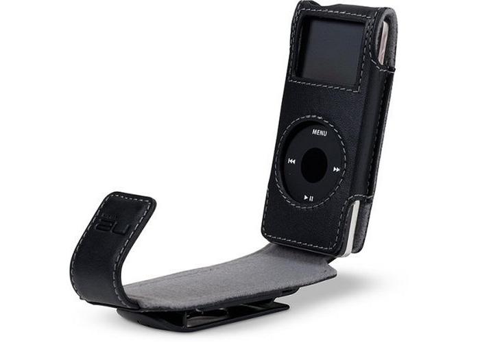 Belkin iPod Nano Flip Case Black For iPod Nano - Black - 1