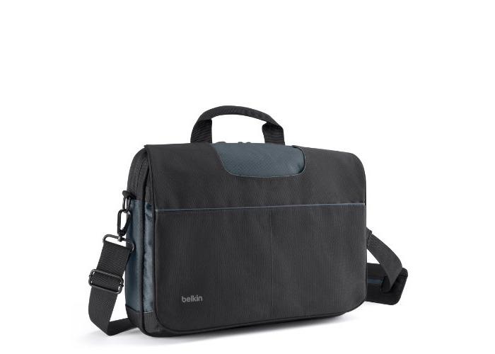 Belkin Messenger Bag for Laptops/MacBook/Ultrabook up to 13 inch - Black - 1