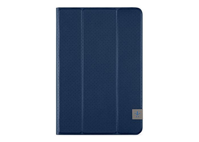 Belkin Perforated TriFold Folio Case with Multiple Viewing Angles for iPad Mini 4, iPad Mini 3, iPad Mini 2 and iPad Mini - Deep Sea Blue - 2