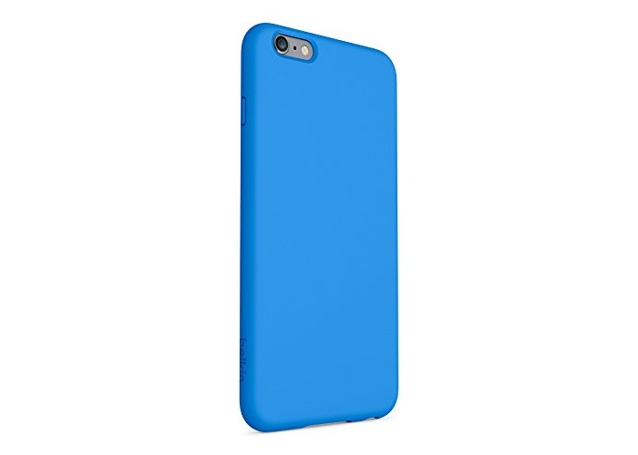 Belkin Slim Fit Grip Cover Case for 6 Plus and 6s Plus - Blue - 2