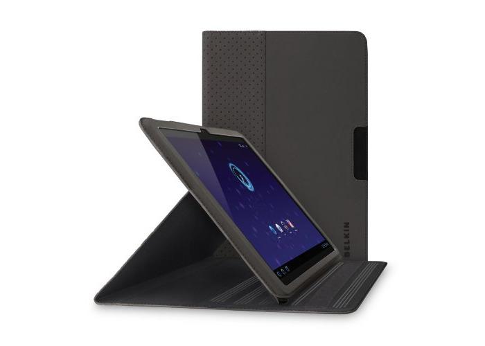 Belkin Slim Folio Stand for Samsung Galaxy Tab 8.9 Inch - Black (F8M169ebC00) - 1