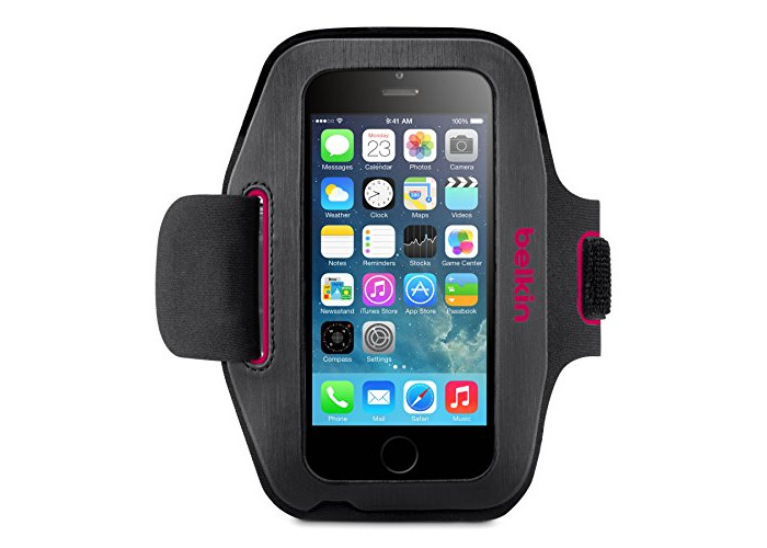 Belkin Sport-Fit Fitness Armband for iPhone 6 and iPhone 6s - Pink - 1