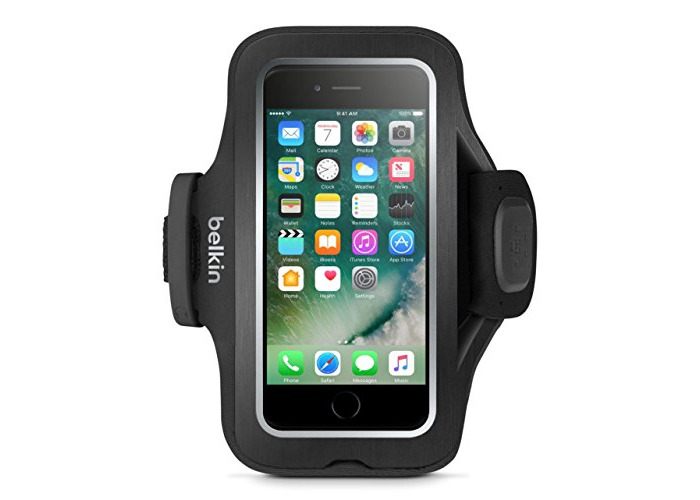 Belkin Sport-Fit Pro Sports Armband (suitable for iPhone 7) black - 2