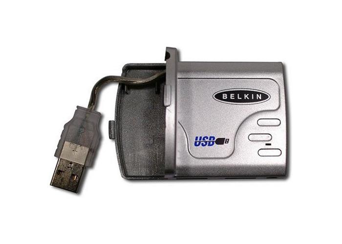 Belkin USB 4-Port Slim Hub - 1