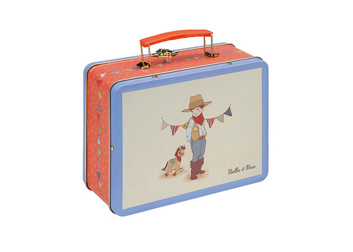 Belle & Boo - Ellis Tin Tote/Lunch Box - 1