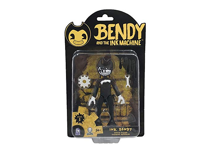 Bendy and The Ink Machine Action Figure (Ink Bendy) - 1