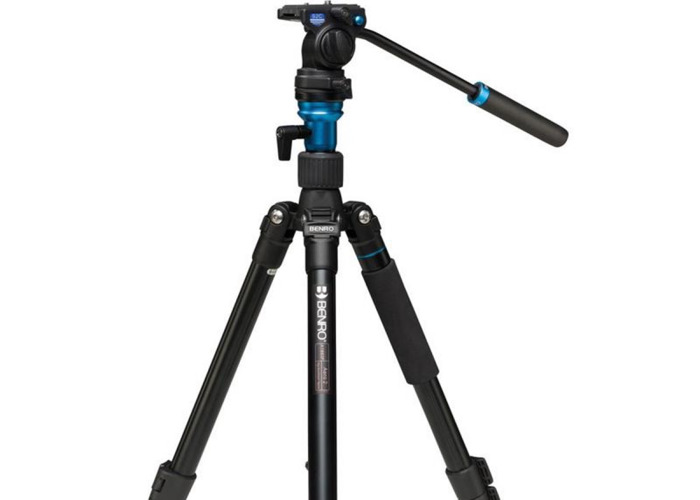 Benro Aero 2 Video Tripod Kit with S2 Head - 1