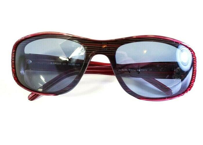 Betty Barclay Womens Sunglasses 6504 C1 Stripe Red - 1