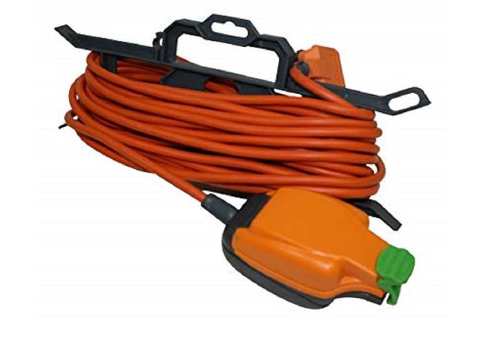 BG Masterplug Weatherproof Extension Lead, Orange - 1