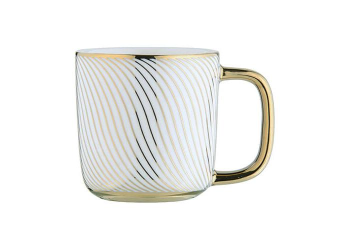 BIA Swirl Espresso Mug Gold - 1