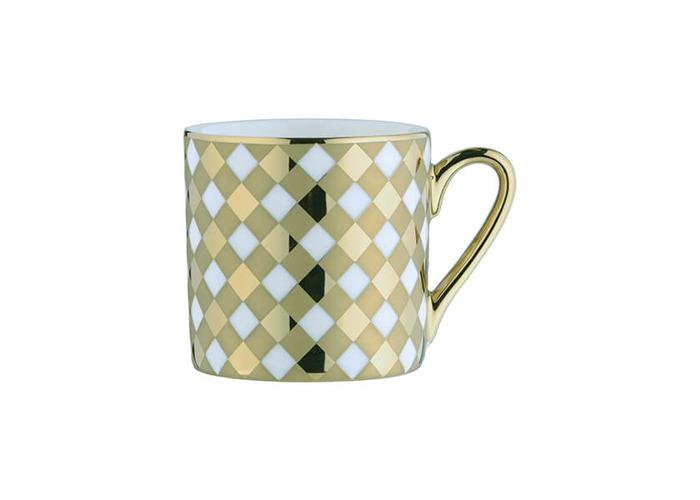 BIA Tartan Espresso Mug Gold - 1