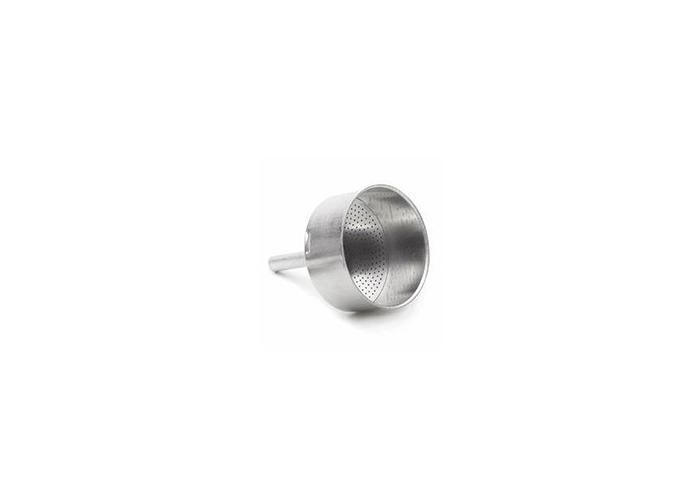 Bialetti 0800102 Blister Funnel – Stainless Steel 12.5 x 6.5 x 19 cm - 1