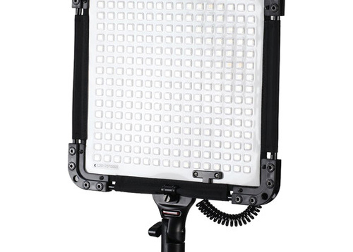bi-color flexible LED 1by. softbox w/ portable stand 1/2 - 1