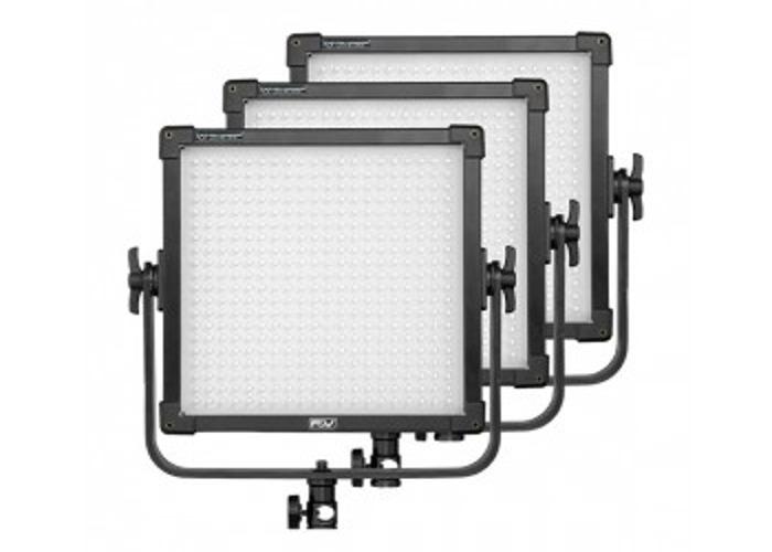 Bi-colour LED panel lights kit - F&V K4000S with stands - 1