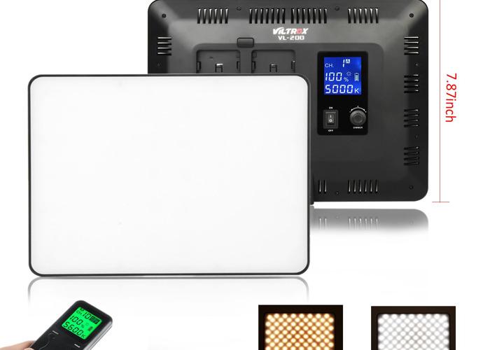 Bi-Colour LED Video Light - VILTROX VL-200T - 2