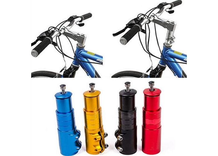 Bicycle Bike Handlebar Fork Stem Extender Riser Head Up Adapter - 1