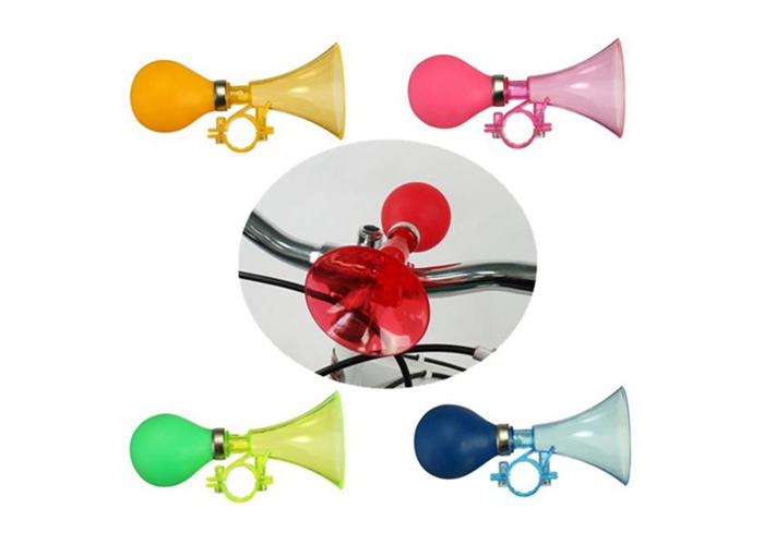 VGEBY 2.2 Inch Bicycle Cycling Retro Air Horn Hooter Bell Bugle Squeeze Bulb Color : Red