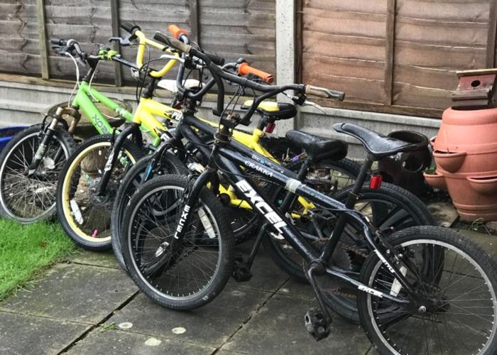 Bicycle x4 - 1