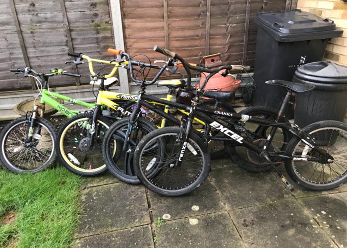 Bicycle x4 - 2