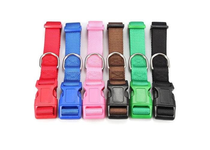 Big Size Pet Dog Cat Adjustable Belt Nylon Harness Pet Lead Collar - 2