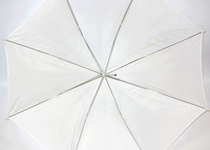 Big white umbrella - 1
