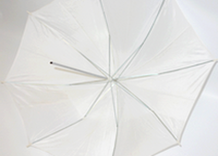Big white umbrella - 2