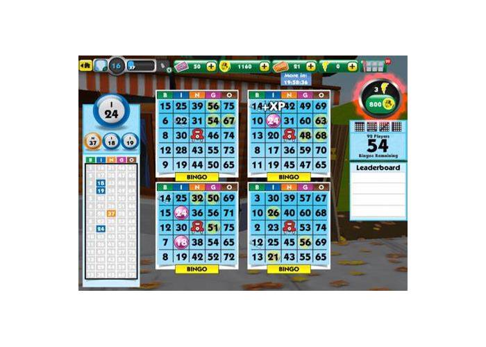Bingo, monopoly, chess - 1