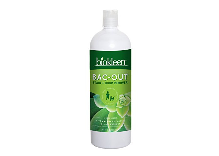 Biokleen Bac-Out Stain+Odor Remover, Destroys Stains & Odors Safely, for Pet Stains, Laundry, Diapers, Wine, Carpets, More, Eco-Friendly, Non-Toxic, Plant-Based, 32 Ounces - 1