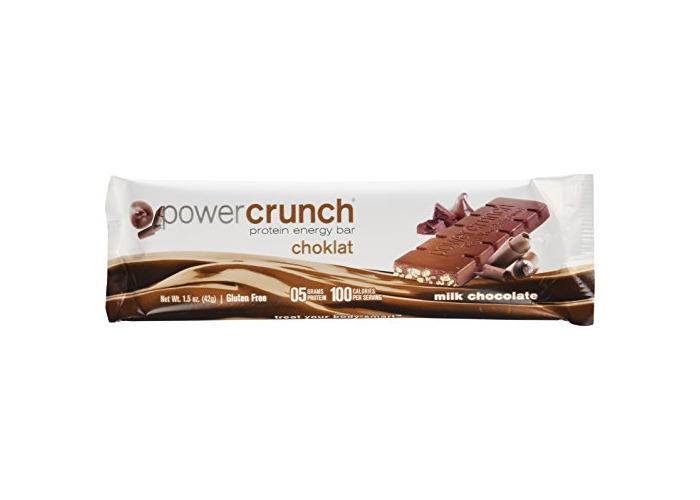 BioNutritional: Power Crunch Choklat Milk Chocolate bar 12ct - 1