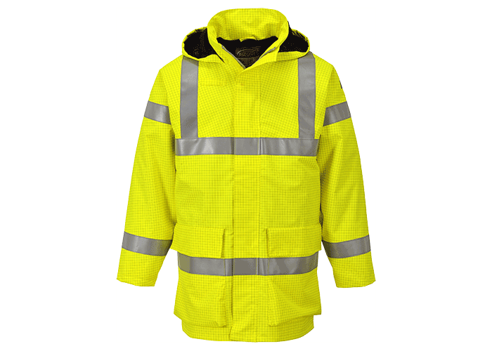Bizflame FR Rain Jacket  Yellow  Small  R - 1