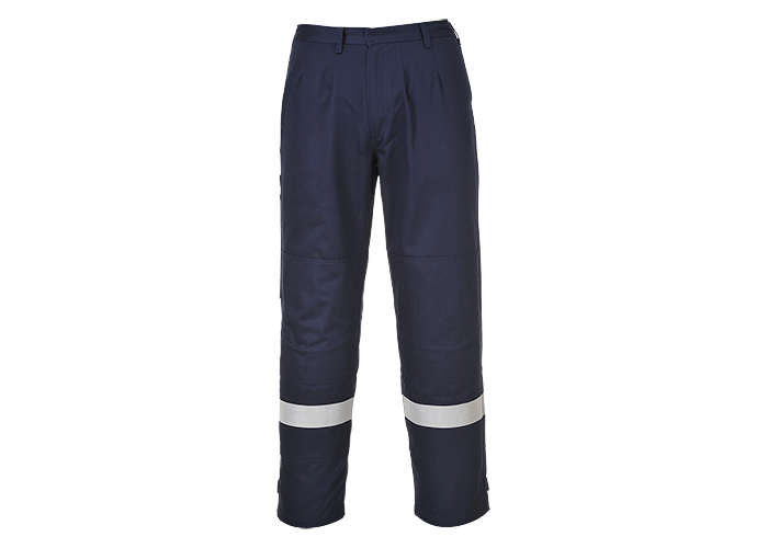 Bizflame Plus Trousers  Navy  XSmall  R - 1