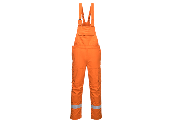 Bizflame Ultra Bib & Brace  Orange  Small  R - 1