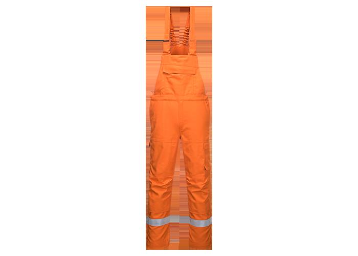 Bizflame Ultra Bib & Brace  Orange  XL  R - 1