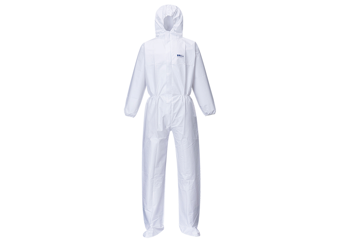 BizTex Booted Coverall (50pcs)  White  XL  R - 1