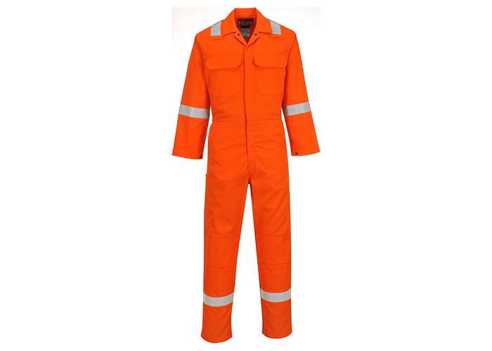BizWeld Iona Coverall  Orange  Large  R - 1