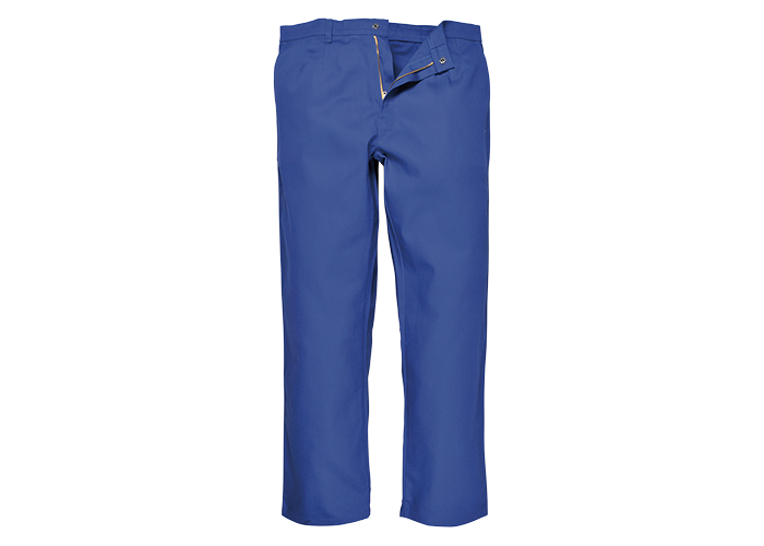 BizWeld Trousers  Royal  Small  R - 1