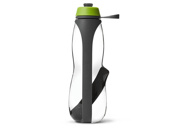Black + Blum Eau Good Duo Grey / Lime Sports Charcoal Filtered Water Bottle - 1