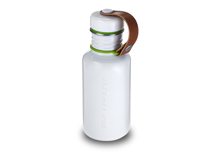 Black + Blum Water Bottle White/Lime - 1
