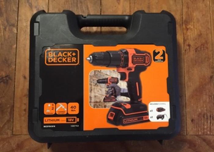 Black & Decker 18V Lithium hammer drill - 1