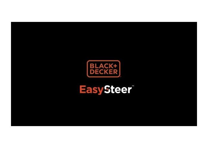 Black + Decker 38cm Corded Lawnmower with EasySteer - 1600W - 2