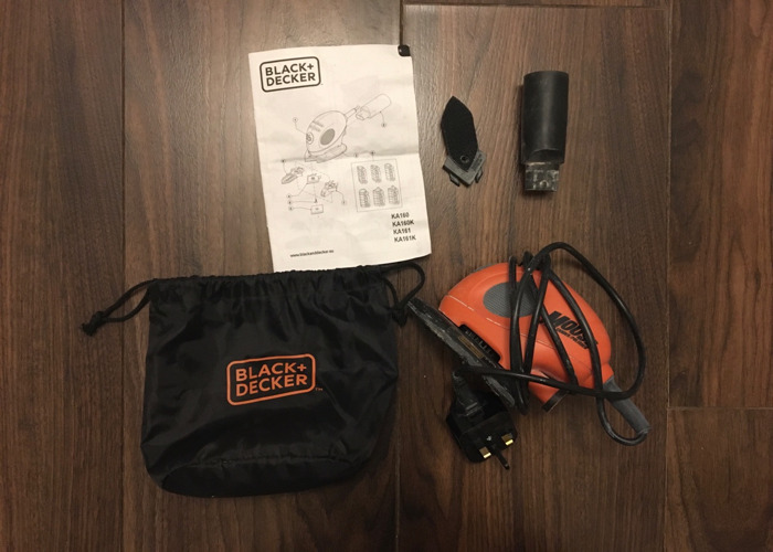 Black & Decker Mouse Sander with Accessories - 1