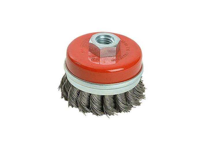 Black & Decker X36080 Twist Knot Wire Cup Brush 65mm M14 - 1