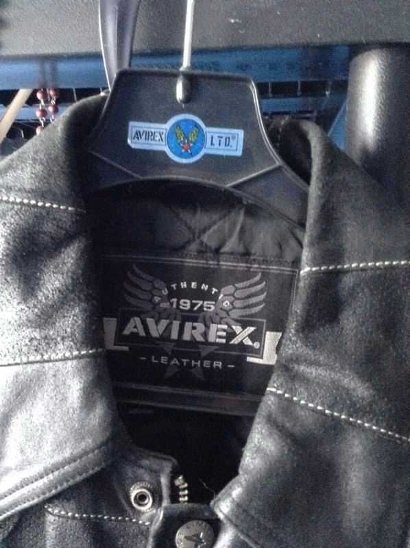 BLACK AVIREX  JACKET - 2