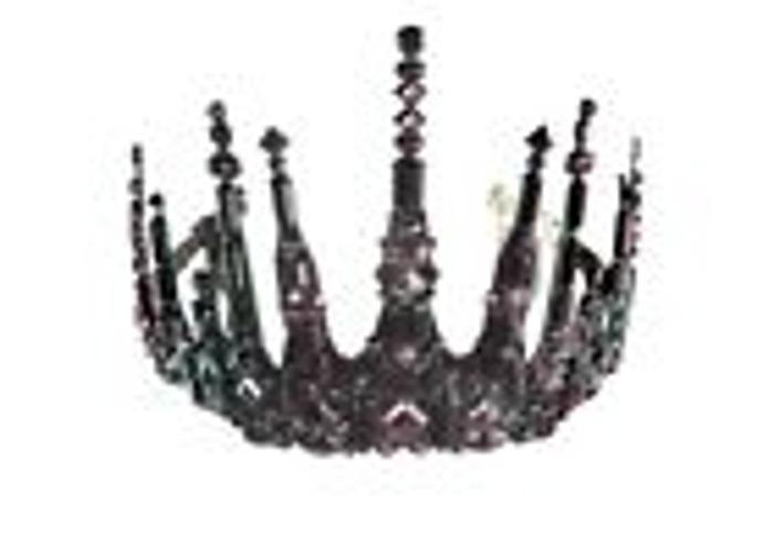Black Crown/ Tiara/ Gothic/ Headpiece - 1