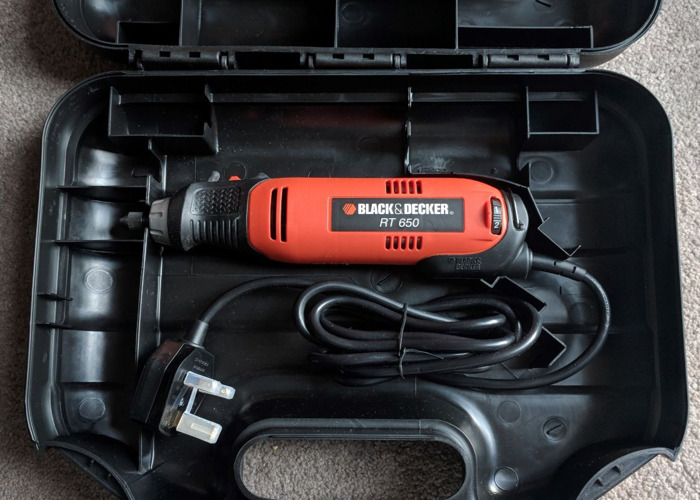 BLACK DECKER - Rotary Tool with accessories (Dremel like) - 1